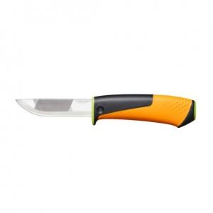 Нож для тяжелых работ с точилкой Fiskars (1023619)