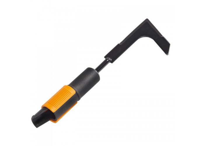 Скребок для уборки травы между плиткой и брусчаткой Fiskars QuikFit™ (1000687/136521)