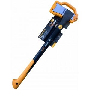 Топор-колун Fiskars х25XL + нож Fiskars Pro CarbonMax™ 18 мм